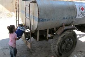 water vrachtwagen